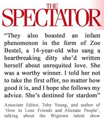 A Paragraph in the Spectator…