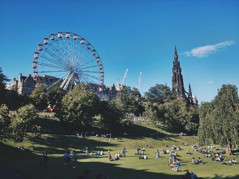 Foodies Festival & Edinburgh Fringe Fings